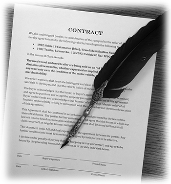 Business Law Contracts by Merrill A. Hanson