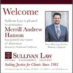 Sullivan Law Merges With Law Office of Merrill A. Hanson, APC